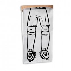 Sac en papier kraft footballeur