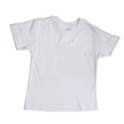 tee-shirt enfant blanc à décorer