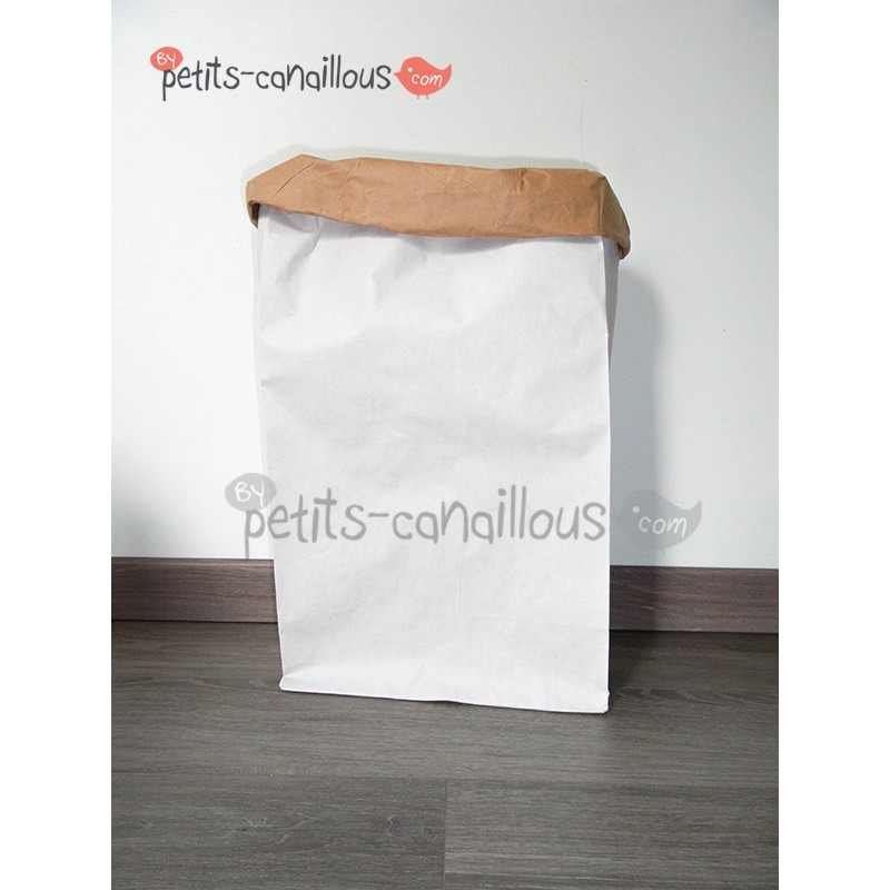 sac en papier kraft d corer recycl paperbag enfant. Black Bedroom Furniture Sets. Home Design Ideas