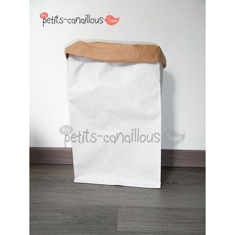 sac en papier kraft d corer recycl paperbag enfant. Black Bedroom Furniture Sets. Home Design Ideas