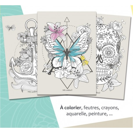 Pack affiches Boho