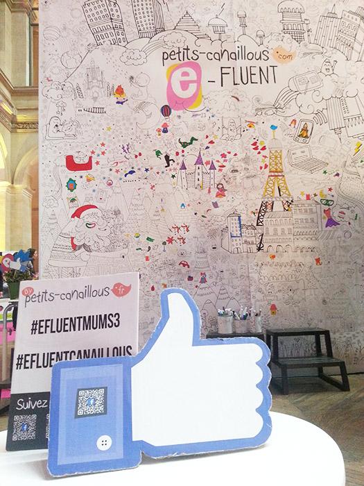 Mur de coloriage géant evenement efluentmums enfants