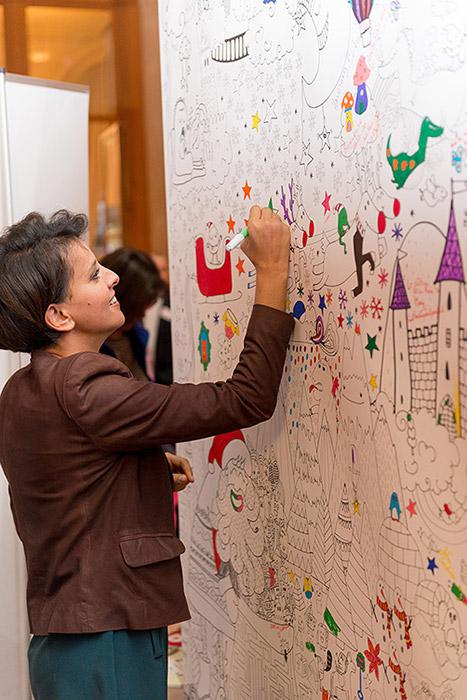 Mur de coloriage evenement efluentmums